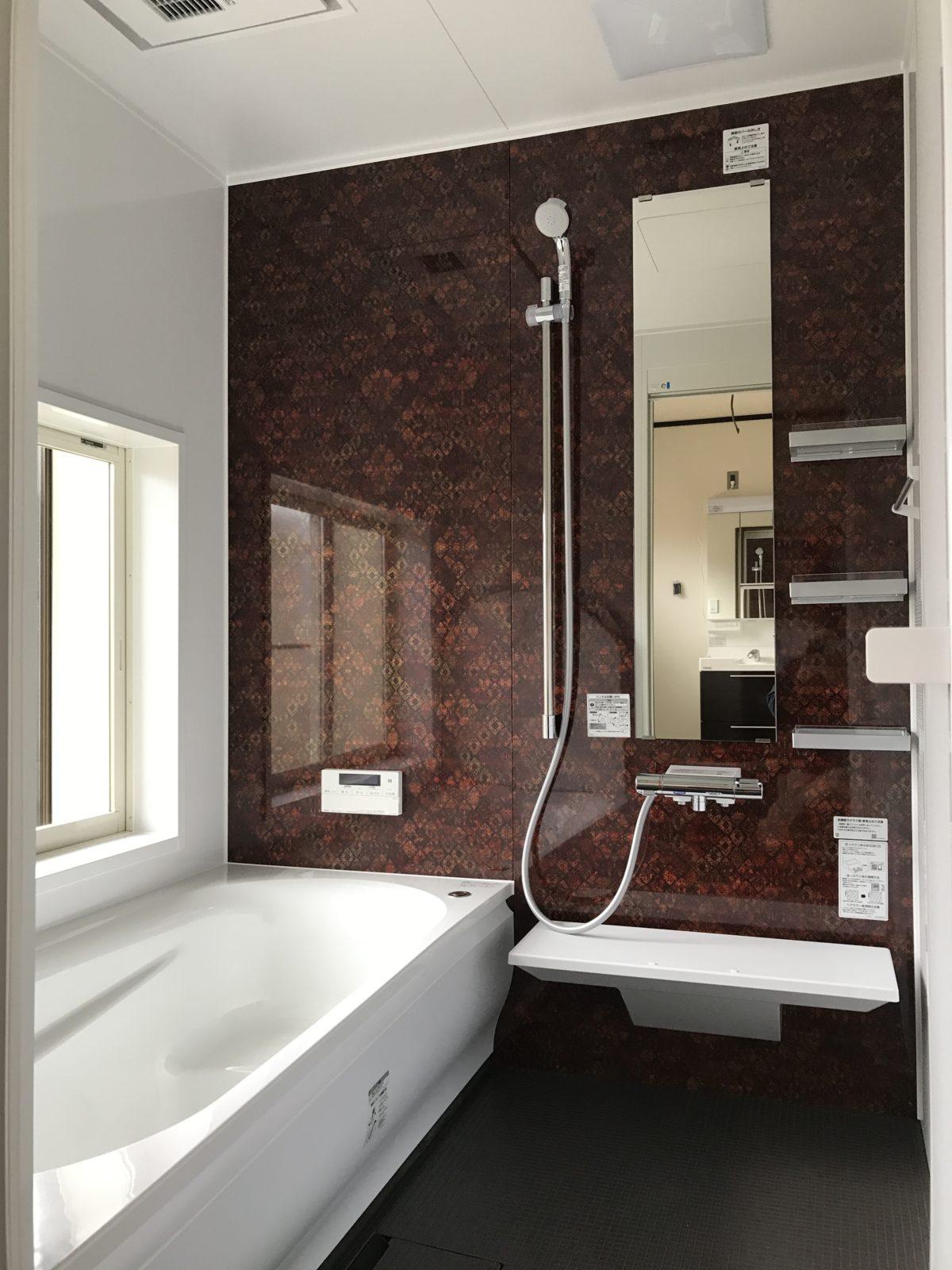 【浴室】暖房機付き