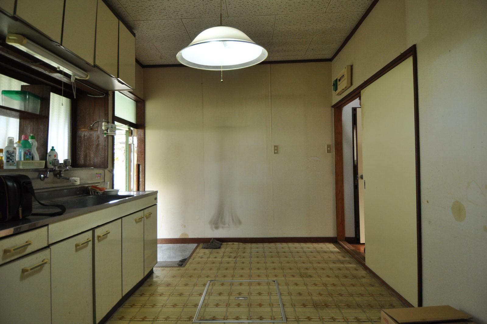 Ⅱ-キッチンリフォーム before