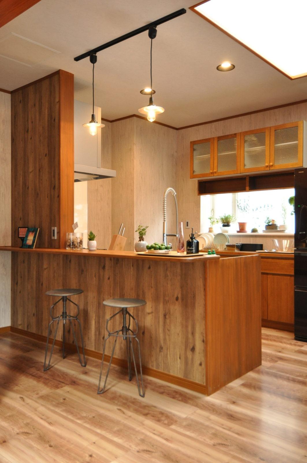 水回りリフォーム キッチン