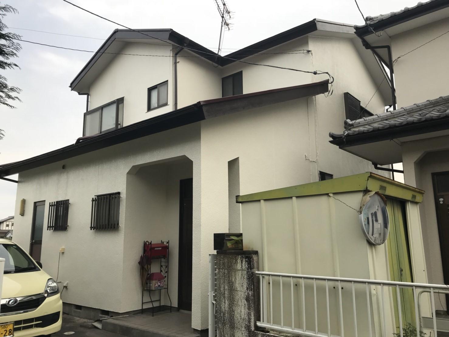 【after】一戸建て住宅の外壁塗装