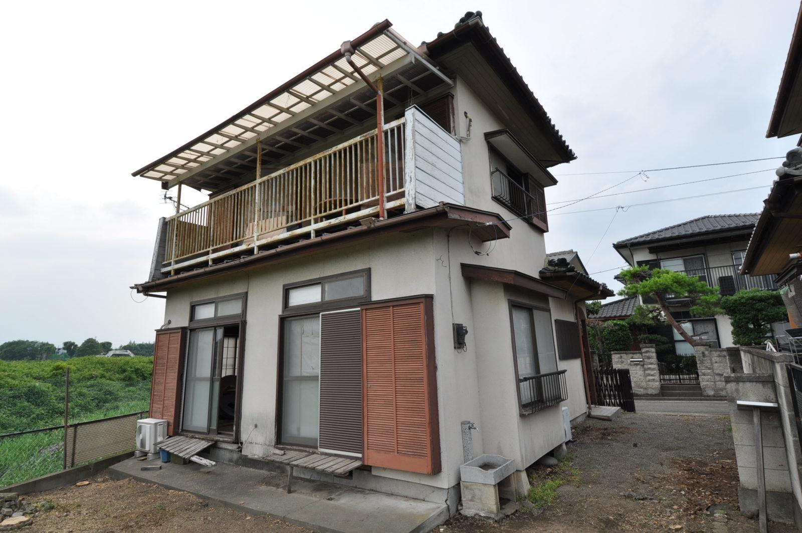 【before】一戸建て住宅外壁塗装