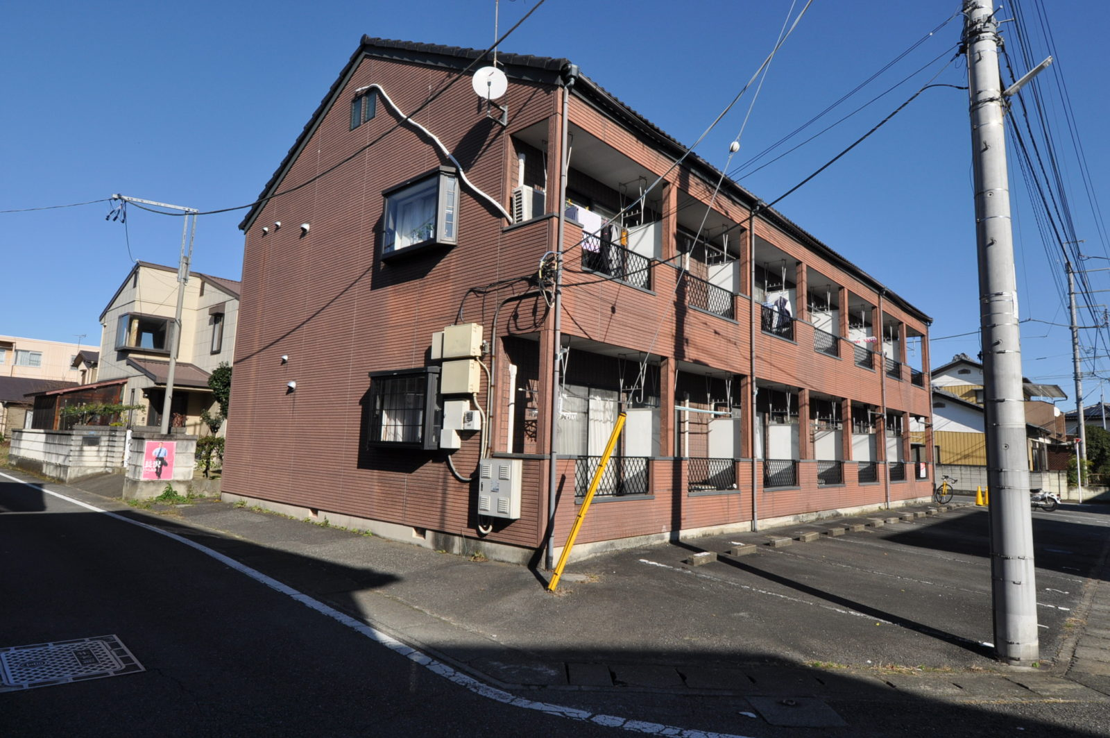 【before】賃貸アパート外壁塗替え
