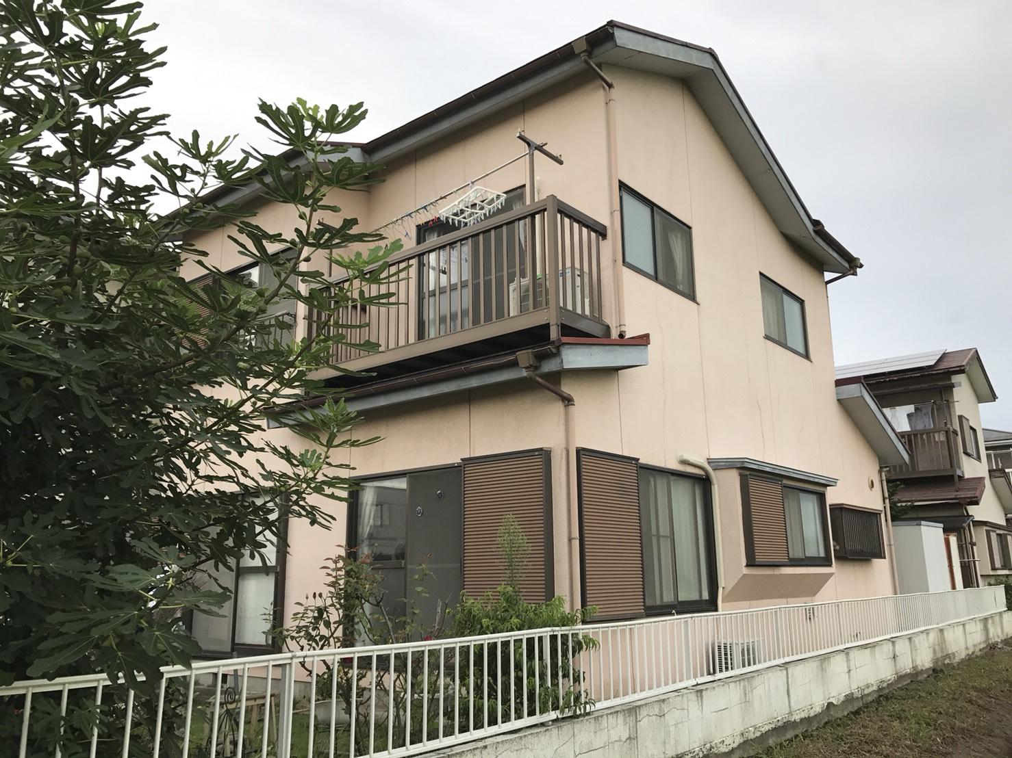 【before】一戸建て住宅の外壁塗装